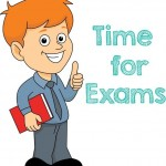 study at exam time