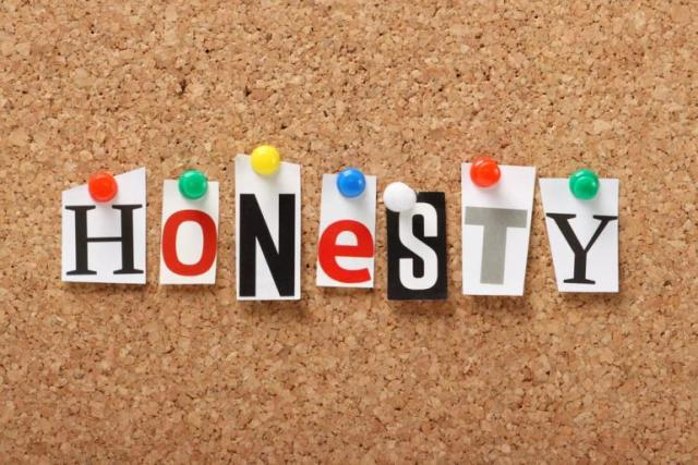 When trust, integrity and honesty are worth their weight in gold