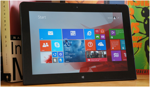 Windows 10 Tablet Intentions