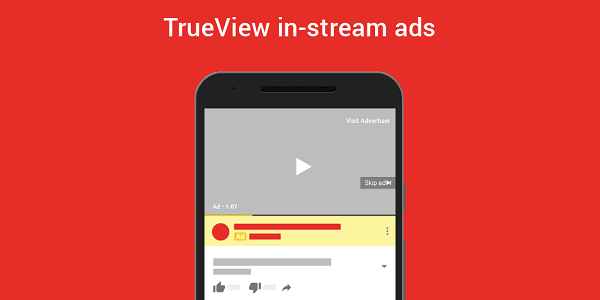 Is TrueView advertising on videos more effective than TV ads
